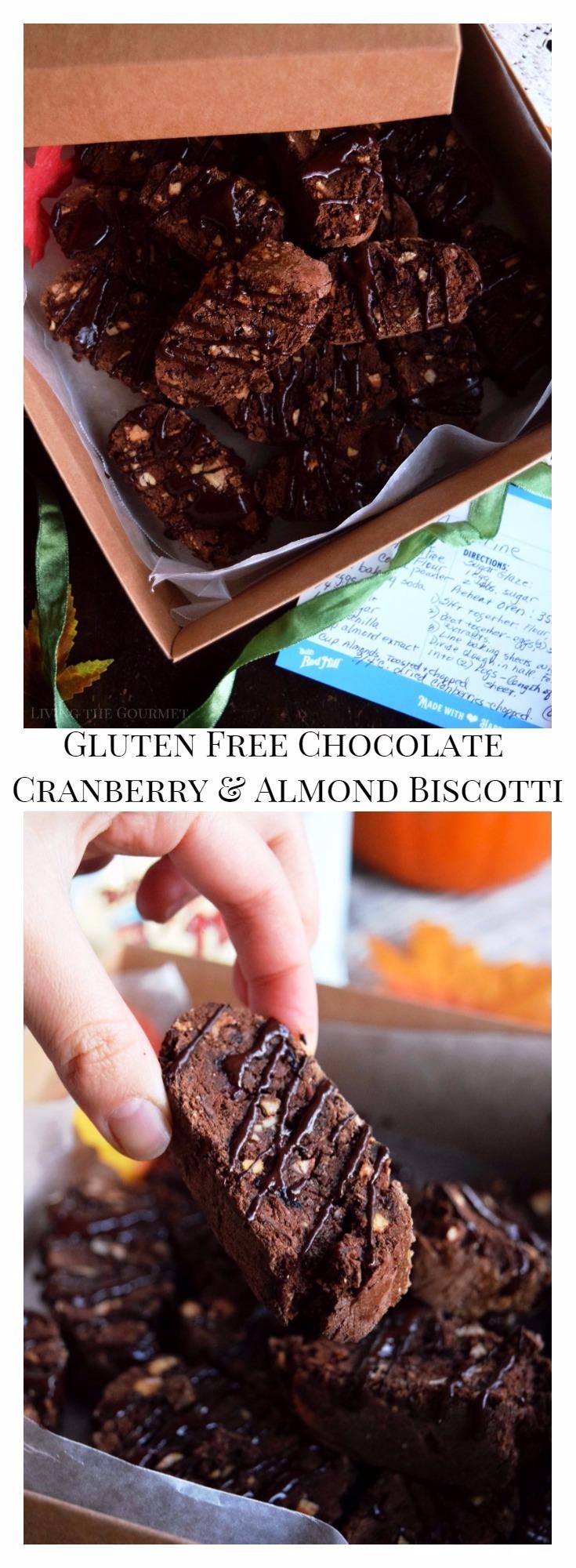 Gluten Free Chocolate Cranberry and Almond Biscotti ...