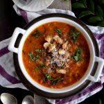 Yam and Tomato Soup