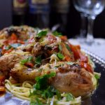 Chicken with Fresh Basil and Tomato