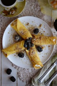 Classic Crepes with Greek Yogurt, Honey & Berries