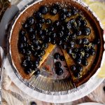 Blueberry Custard Pie (Gluten Free)