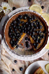 Blueberry Custard Pie (Gluten Free)