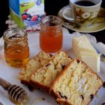 Honey and Cream Cranberry Bread