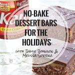 No-Bake Dessert Bars for the Holidays