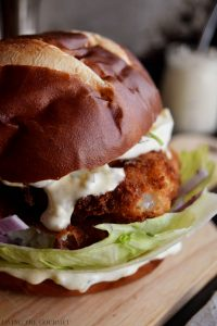 Flounder Fillet Sandwiches and How to Edit Your Food Photos