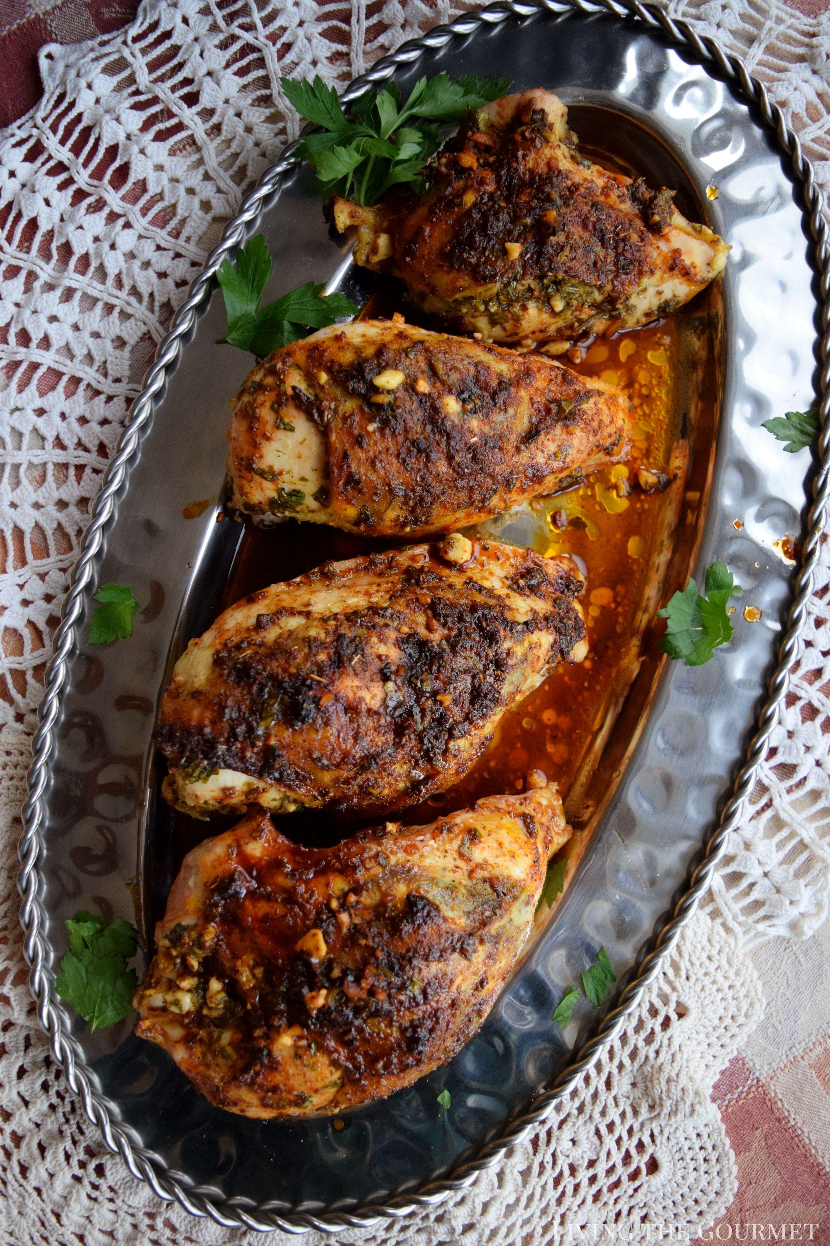 Mediterranean Style Chicken Breast Feautring Vivanco Winery Living