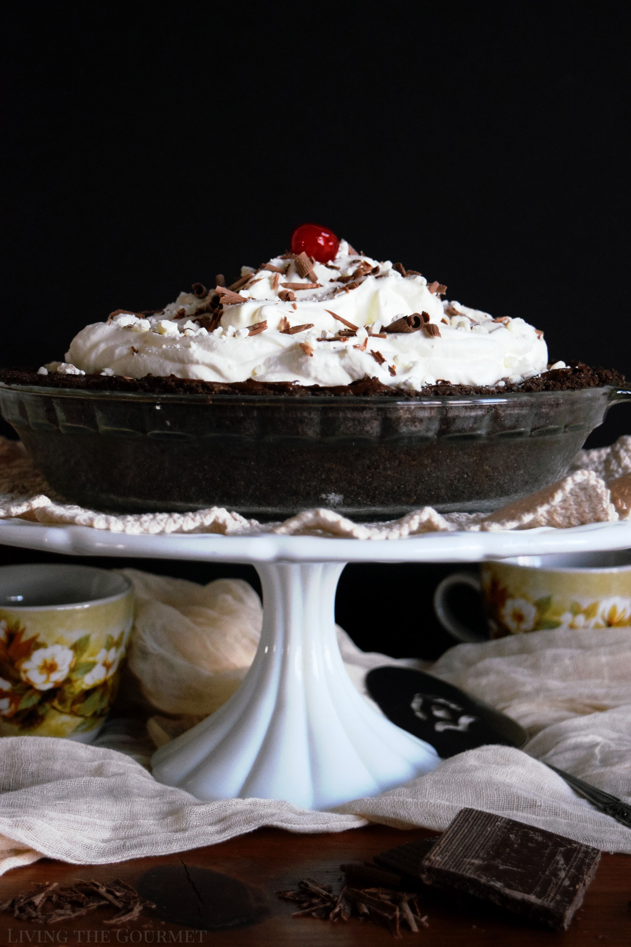 French Silk Pudding Pie