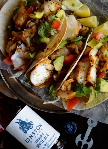 Recipes living the gourmet for Cod fish tacos