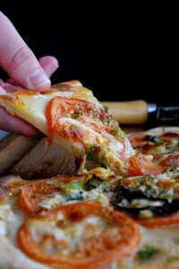 Margaritaville Pizza (Pizza a la Minute) and Interview with Chef Carlo Sernaglia