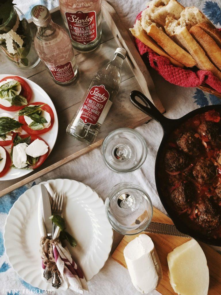 Italian Meatball Subs Living The Gourmet