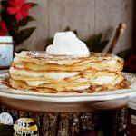 Honey Crepe Cake