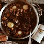 Beef Bourguignon featuring Decoy Wines