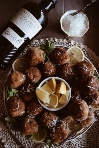 Italian Fried Shrimp Balls