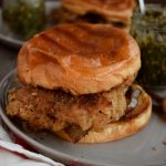 Italian Chicken Cutlet Sandwiches with Gremolata