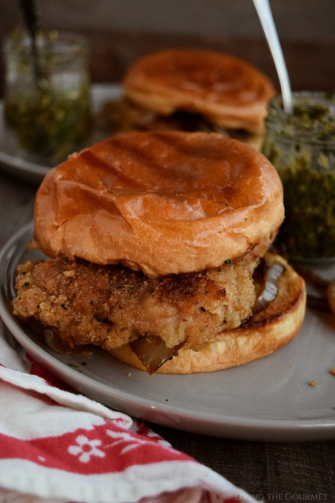 Italian Chicken Cutlet Sandwiches With Gremolata Living The Gourmet