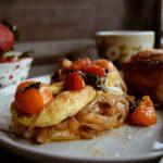 Italian Style Breakfast Omelette