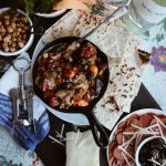 Mediterranean Caponata featuring Macari Vineyards