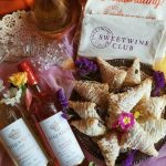 Chocolate Hazelnut Pastries and Sweet Rosé