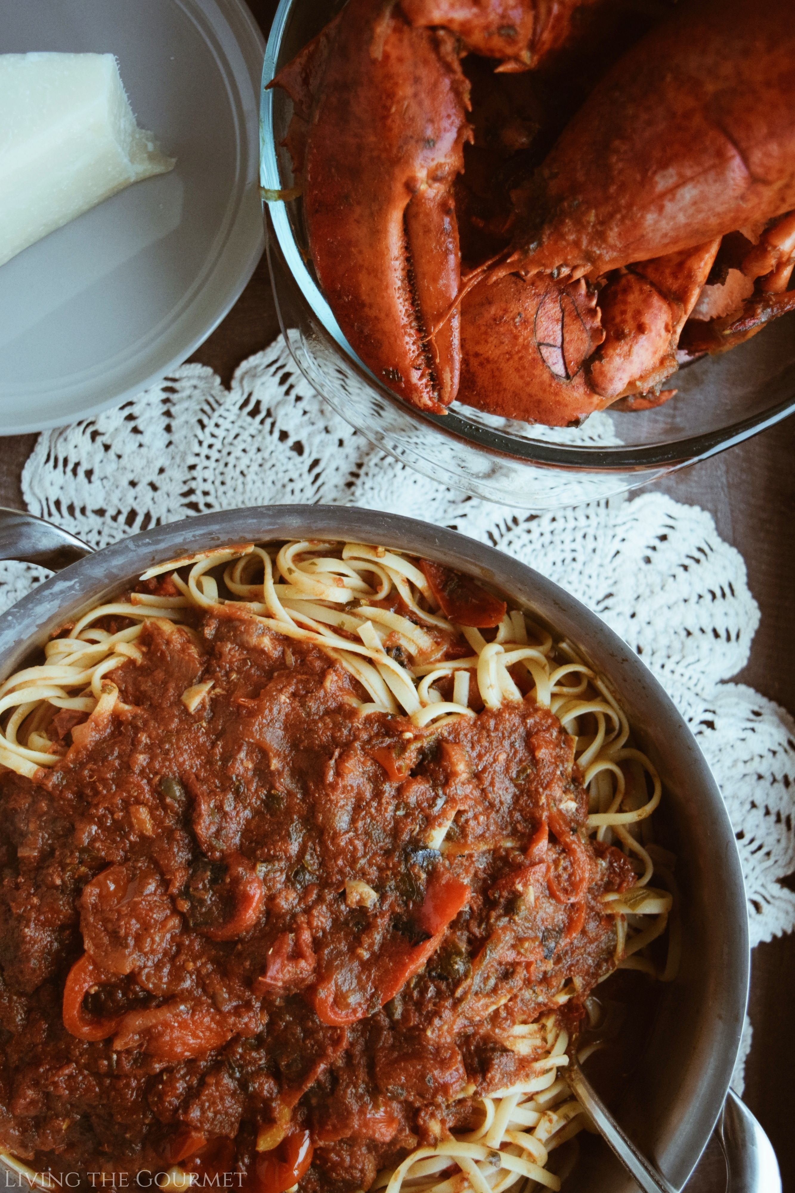 Lobster Fra Diavolo and Hunt Country Wines
