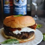 Exploring Texas Wines PRT II: Meatball and Basil Burger featuring Messina Hof Winery