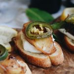 Exploring Texas Wines PRT IV: Grilled Peach & Jalapeno Crostini & 4R Ranch Vineyards and Winery