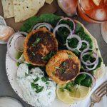 Mediterranean Crab Cakes