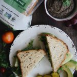 Black Bean Veggie Sandwich