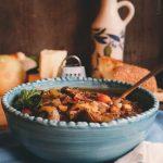 Mushroom & Tomato Stew