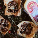 Cranberry & Jarlsberg Tartlets