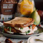 Grilled Pear & Pepper Sandwich