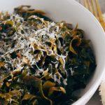 Spicy Garlic & Red Pepper Kelp Pasta