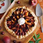 Peach & Cherry Galette