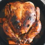 Garlic and Basil Roast Chicken