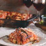 Zucchini & Bread Lasagna