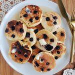 Blueberry Corn Griddlecakes
