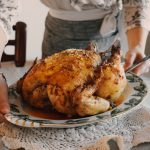 Roasted Chicken with Mayo Dressing