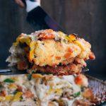 Southwest Chicken Parmesan